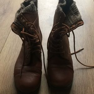 Shoes - Ankle lace up boots
